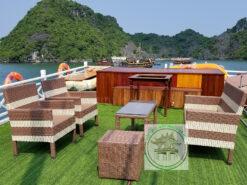 sofa may nhua cafe cao cap