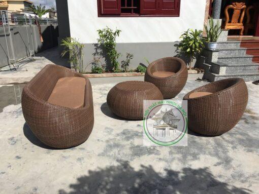 Sofa may nhua E123